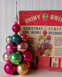 201 best shiny brite images on glass ornaments