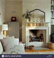 interiors living rooms traditional fireplaces stock photos