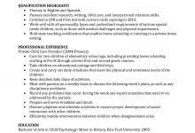 Nanny Resume Example by All About Resume Example For Your Jobs Search U2013 Resume Example