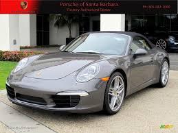 porsche agate grey 2012 agate grey metallic porsche new 911 carrera s cabriolet