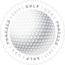 golf balls included in new first of a kind usps stamps golf com
