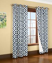 Amazon Living Room Curtains by Amazon Com Trellis Thermalogic Navy 80