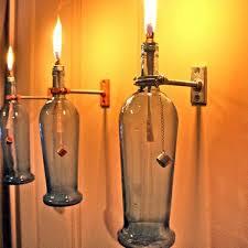 Wine Bottles With Lights Diy Lamp From Wine Bottles U2013 Creative Decorating Ideas Interior