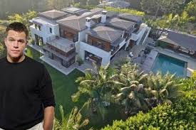 Brentwood California Celebrity Homes by Matt Damon Quietly Selling Pacific Palisades Compound Just Like