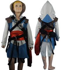 children halloween costumes assassin u0027s creed black flag edward kenway cosplay costume jacket