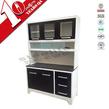 Imported Kitchen Cabinets Home Furniture Free Standing Stainless Steel Storage Black Kitchen