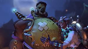 world of warcraft halloween background roadhog overwatch overwatch junkrat overwatch halloween