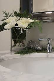 unique 90 christmas decorating ideas your bathroom inspiration of