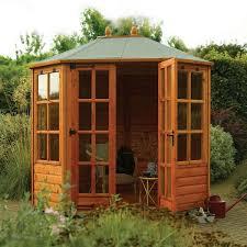 Summer Houses For Garden - octagonal wooden summer houses for sale