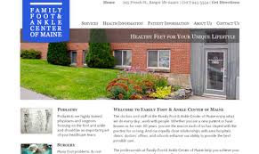 home design center bangor maine family foot and ankle center of maine links web design