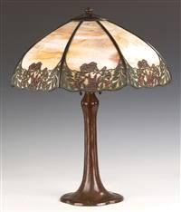 Arts And Crafts Desk Lamp Handel Co Auction Results Handel Co On Artnet