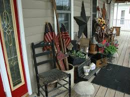primitive home decorating ideas for the porch celebrate summer