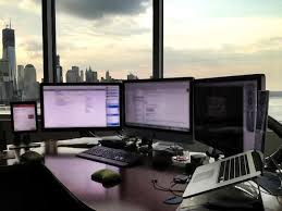 Macbook Pro Desk Mount Best Setup Ever Mac Setups Ceo U0027s Desk Imac 27 U2033 Retina Macbook