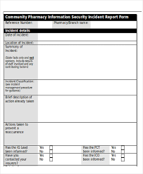 incident summary report template 25 incident report templates in word free premium templates