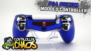 ps4 custom led light bars custom controllers controller chaos