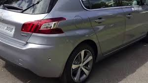 peugeot turbo 308 peugeot 308 allure my17 1 2 turbo youtube