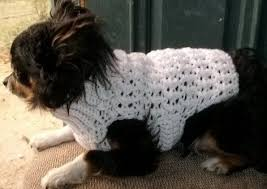 crochet pattern for dog coat free pattern from red heart yarn worsted level intermediate
