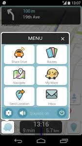 waze android waze updated to v3 8 with new location features contact