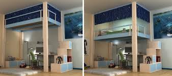 lit mezzanine ado avec bureau et rangement bureau mezzanine en 56 idées inspirantes mezzanine lit
