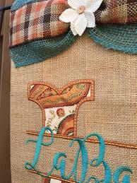 Fall Garden Flag Teal Fall Split Letter Garden Flag
