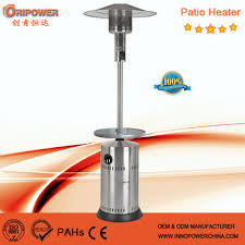 Stainless Steel Patio Heater Gas Propane Stainless Steel Outdoor Patio Heater With Bar Table