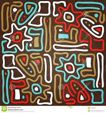 Tribal Print Wallpaper by Maya Sun Stock Images Image 31944354