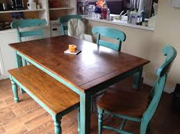 Teal Dining Table Teal Kitchen Table Arminbachmann