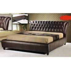 Galax BD Upholstered Divan Quee End   PM - King size bedroom set malaysia