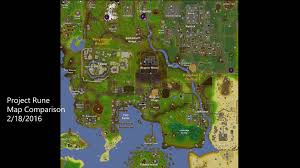Oldschool Runescape World Map by Project Rune Map Comparison Create Discover And Share Awesome