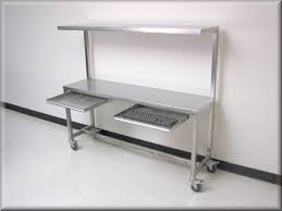 stainless steel work table rdm stainless steel table with upper shelf model f103p ss