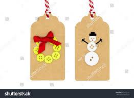 winter christmas paper craftscheerful snowman green stock