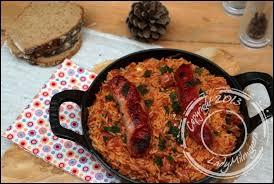 comment cuisiner des saucisses de toulouse riz à la tomate et aux saucisses un siphon fon fon un siphon fon