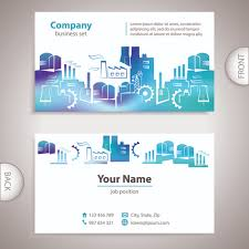 back of business cards excellent business cards front back template vector 09 templates
