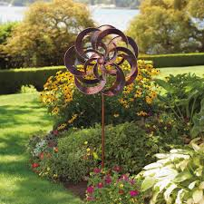wind spinners for the garden sculpture windmill yard lawn stake