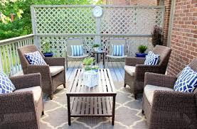 creative of outdoor patio carpet with patio bench as patio