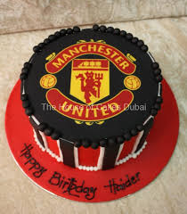 manchester united cake 3
