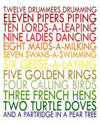the twelve days of christmas song new year info 2018