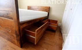reclaimed wood beds ontario hd threshing