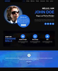 Wordpress Resume Themes Lantern Personal Resume And Portfolio Theme By Klbtheme