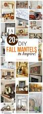 diy fall mantel decor ideas to inspire beautiful autumn and