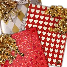 wedding wrapping paper hearts wedding wrapping paper