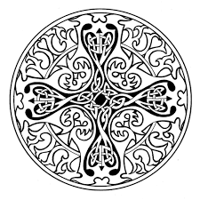 coloring pages celtic mandala coloring pages celtic coloring