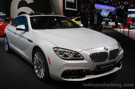 bmw van 2016 2016 bmw 6 series gran coupe facelift at the 2015 detroit auto
