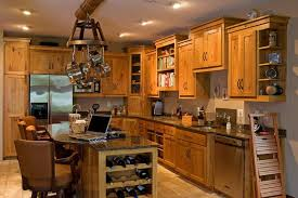 Rustic Pine Kitchen Cabinets by Kitchens Rustic Interior Design Ideas Small Space Gray