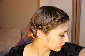 side buns for shoulder length fine hair easy braided updo for short fine hair youtube