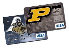 alumni wallet local credit union to offer purdue alumni association credit cards