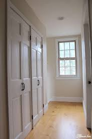 How To Build Bi Fold Closet Doors Diy Closet Door Makeover Bi Fold To Hinged Lehman