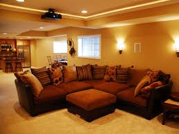 furniture selection for basement living room 4 home ideas
