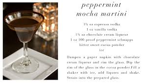 chocolate mint martini peppermint martini catch 88