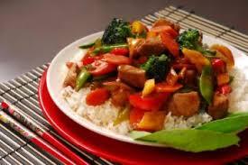 cuisine chinoise porc sauté de porc à la chinoise recettes de cuisine chinoise